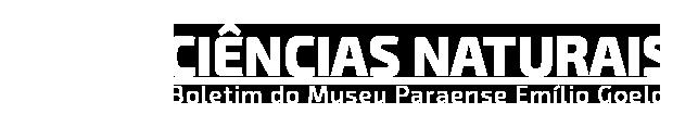 Logo Boletim de Ciências Naturais